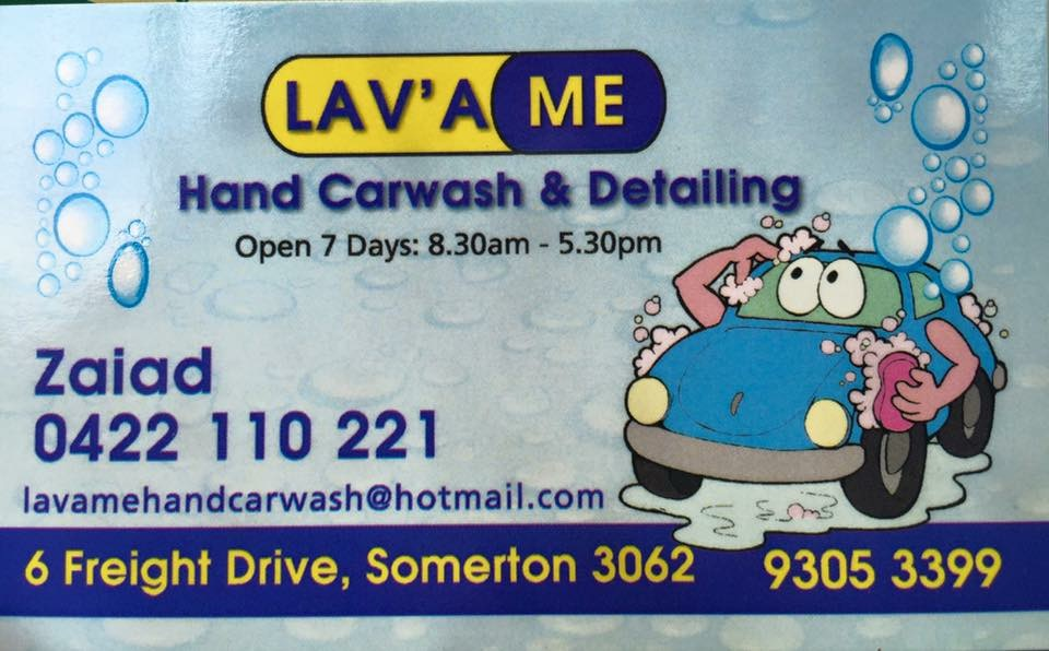 Lav'a Me Hand Car Wash & Detailing