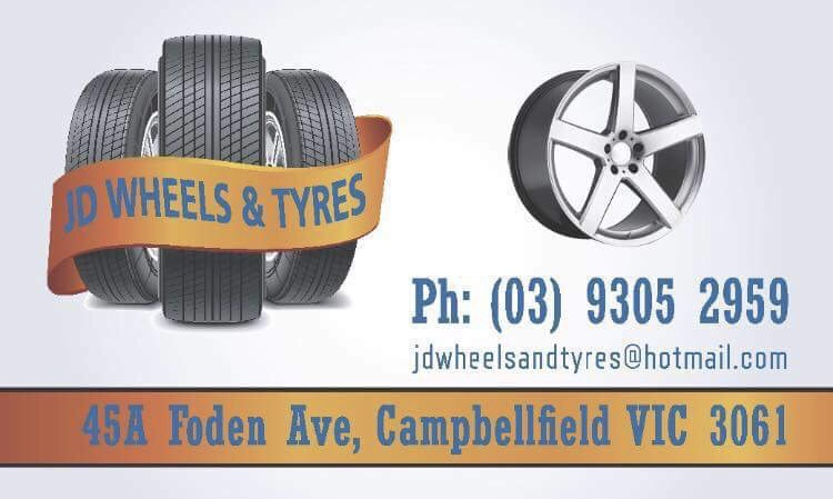 Jd wheels&tyres